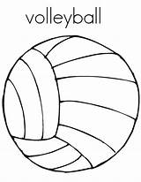 Volleyball Coloring Pages Court Drawing Getdrawings Colornimbus sketch template