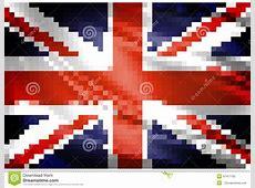 United Kingdom Flag Pixel Stock Illustration Image 47477705