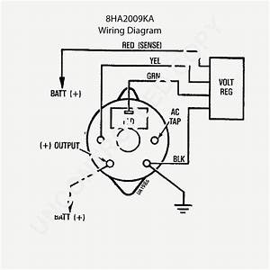 Alternator Wiring Diagram Tractor