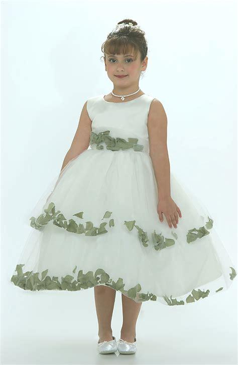 ttg flower girl dress  ivory sleeveless double