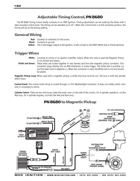 Msd 8982 Wiring Diagram msd timing controller wiring unlawfl s race engine