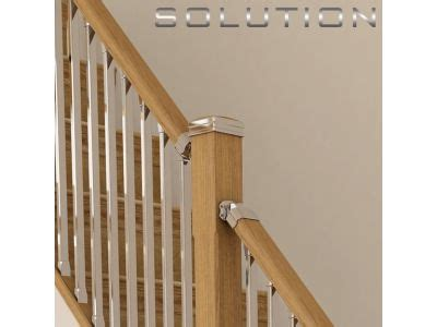 Chrome Banisters by Chrome Stair Spindles Rustic Wood Railing At Http