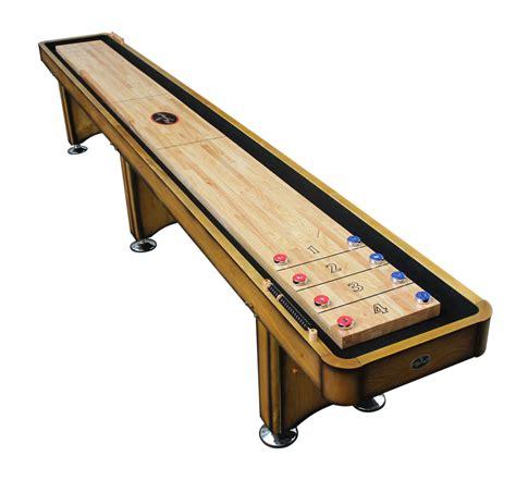 14' Georgetown Honey Shuffleboard Table - Shuffleboard.net