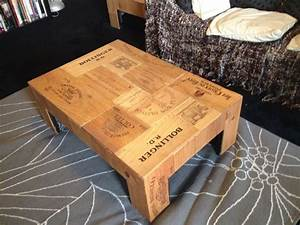 61 best images about wine crate tables on pinterest With coffee table made out of crates