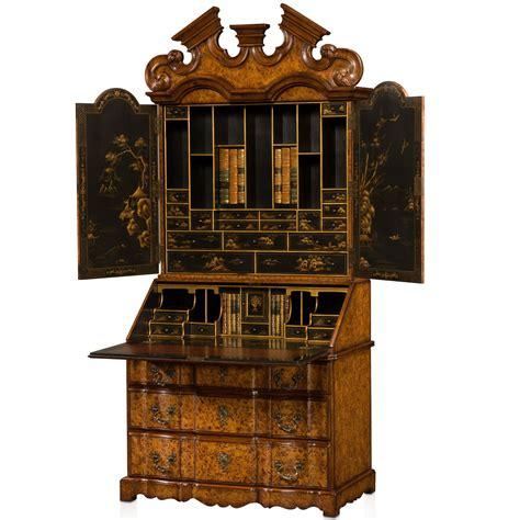bureau cabine george i style poplar burl bureau cabinet bureaux from