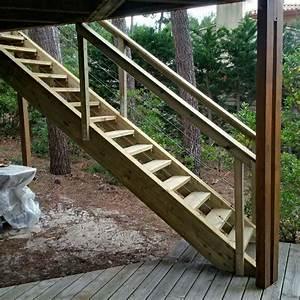 Escalier Extérieur En Bois : escalier exterieur en bois artisan charpente menuiserie ~ Dailycaller-alerts.com Idées de Décoration
