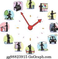 daily routine clip art royalty  gograph