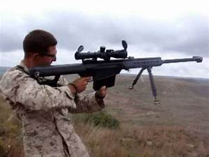 Marine Shoots 50 Cal Standing Up YouTube