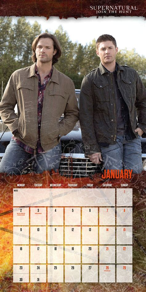 supernatural calendars ukposterseuroposters