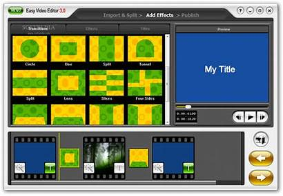 Editor Easy Honestech Effects Transitions Titles Softpedia