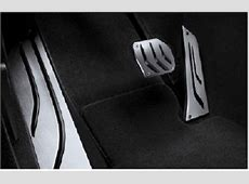 BMW Genuine M Performance Stainless Steel Pedals Covers