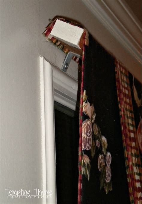 magnetic curtain rod tempting thyme
