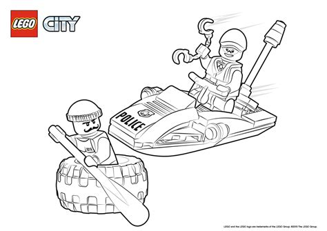 Lego City Colouring Pictures