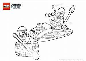 Lego City Coloring Pages New Lego Police Boat Coloring