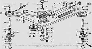 Honda Lawn Tractor Parts Cd4538 Sa 38 Mower Deck Vin  Rzas