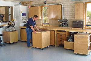 Woodworking Plans Garage Woodshop Layout PDF Plans
