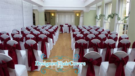 chair covers at pembroke lodge designer chair covers to go