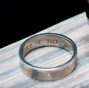 wedding ring engraving ideas words wedding ideas With engraving wedding ring