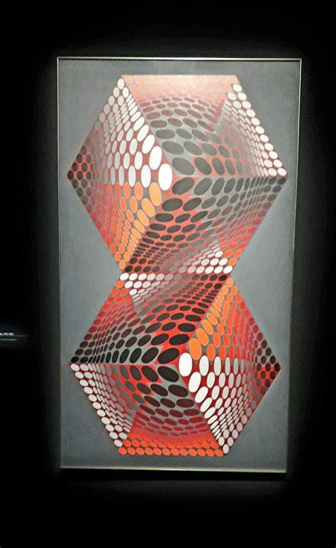 retrospective vasarely au centre georges pompidou