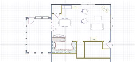 Kitchen Floor Plans And After by Expanding A Closed Kitchen Creates A Family Friendly