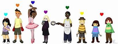 Undertale Souls Human Soul Characters Deviantart Feelings
