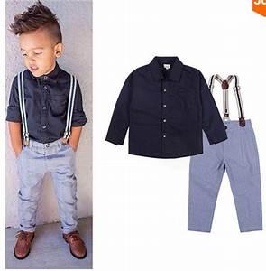 Baby Boy Gentleman Formal Suits Little Boys T-shirt ...