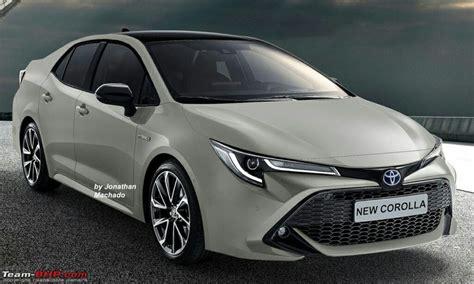 Spied Allnew 2019 Toyota Corolla Teambhp