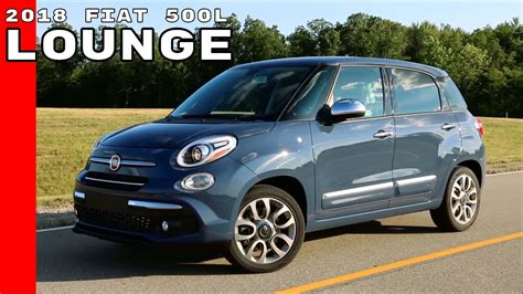 2018 Fiat 500l Lounge Youtube