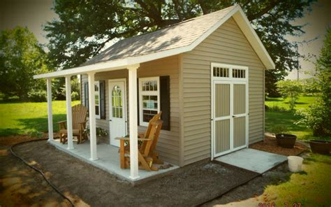Shed With Porch by Garden Shed W Porch Selling Custom Storage Sheds For