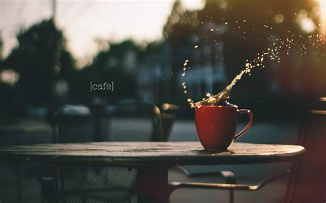 coffee cup splash hd wallpaper  high definition