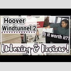 Hoover Windtunnel 2 Vacuum Cleaner Unboxing & Review