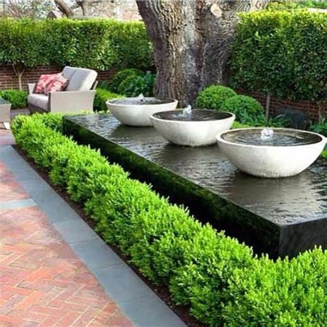Moderner Garten Mit Wasser by 25 Best Ideas About Garden Water Fountains On