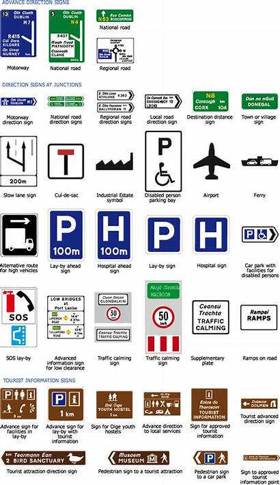 Signs Road Ireland Traffic Driving Francis Call