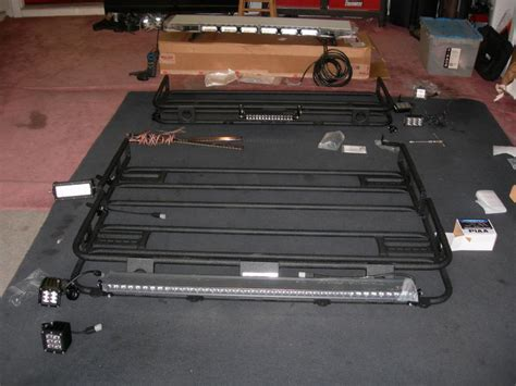roof rack with lights roof rack lights installation cosmecol