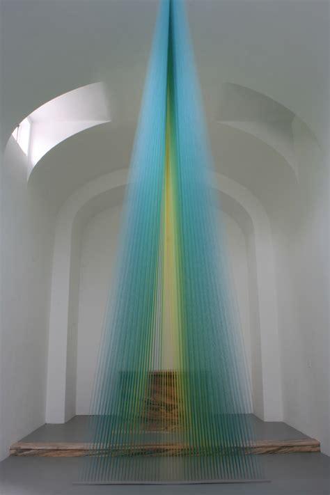 artist creates light with thread gabriel dawe