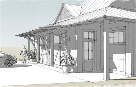 tideland haven garage southern living house plans