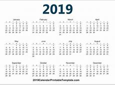 Google Sheets Calendar Template 2019 January 2019 Calendar