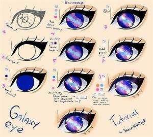 Step by Step - Galaxy eye TUTORIAL by Saviroosje on DeviantArt