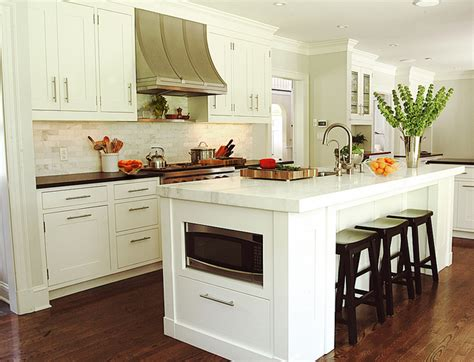 microwave in island cabinet island microwave transitional kitchen benjamin moore