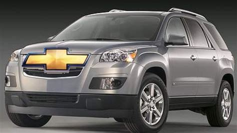 Report Chevy Traverse To Join Gm's Group Of Lambda Cuvs