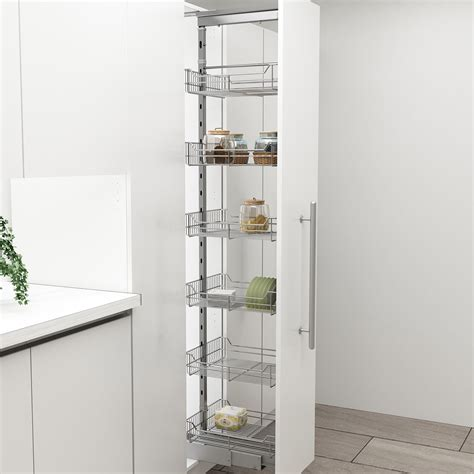 kitchen pantry accessories pantry softclose c height x 300mm chrome 041 hc131 g2 marathon hardware 2409
