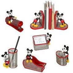 disney office desk accessories mickey mouse office items love the tape dispenser
