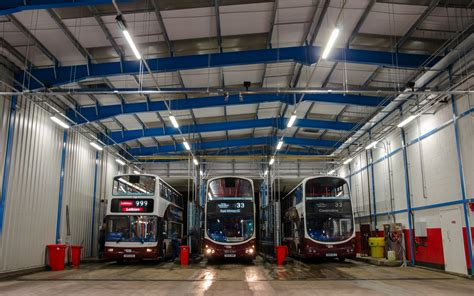 lothian bus depot projects thorlux lighting global
