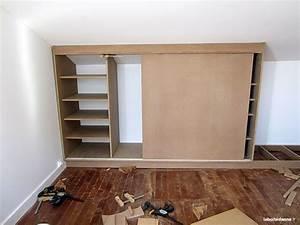 Meuble Pour Comble : placard sous pente 03 deco pinterest placard sous ~ Edinachiropracticcenter.com Idées de Décoration