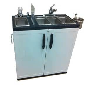 portable sink depot dipping well portable sink 4 compartment