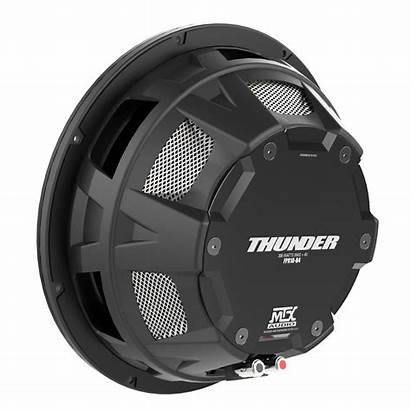 Subwoofer Shallow Mount Mtx Audio Single Inch