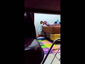 Baby play hide and seek with mom - YouTube