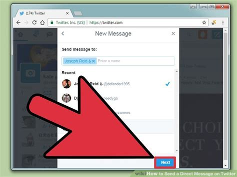 How To Send A Direct Message On Twitter Wikihow