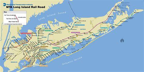 lirr train map lirr map long island  york usa