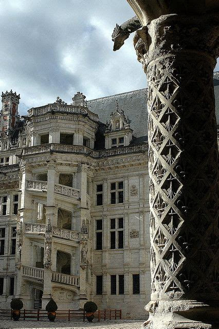 escalier chateau de blois 1000 images about the loire valley on renaissance rivers and formal gardens